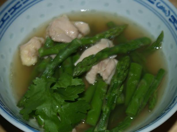 Nickey's Chicken N Asparagus Soup
