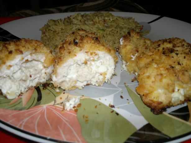 Savory Stuffed Chicken Breasts (Seasoned Cream Cheese Stuffing)