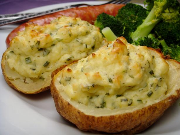 Boursin Stuffed Potatoes