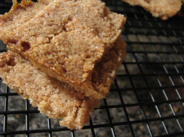Honey-Coated Shortbread