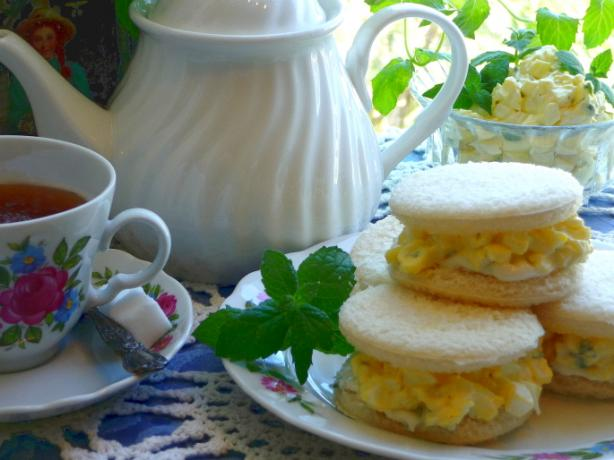 Poetical Egg Salad Sandwiches