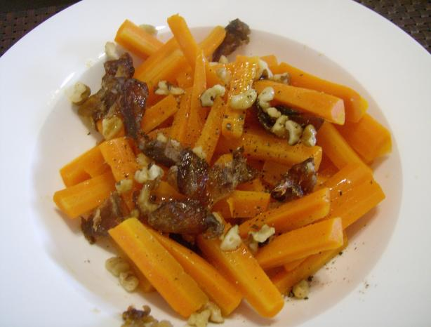 Carrot Date Walnut Couscous