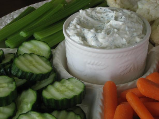 Homemade Vegetable Dip