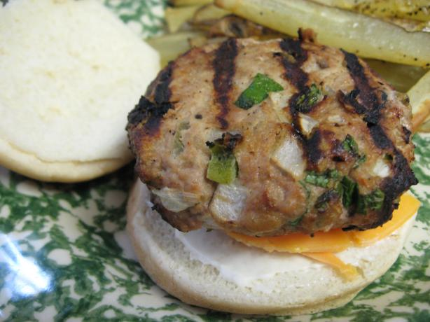 Salsa Chicken Burgers
