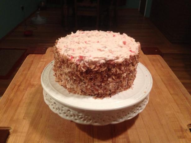 Hibiscus Nectar Cake