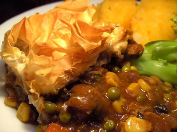 Tender Beef Pie