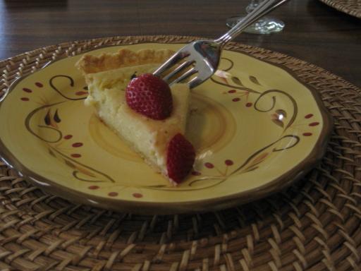 Creamy Lime Pie (Rick Bayless)