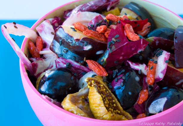 Power Purple Antioxidant Fruit Salad