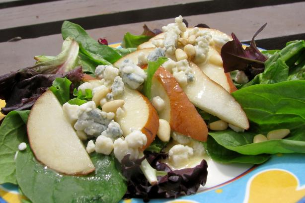 Pear and Stilton (Or Asiago) Salad