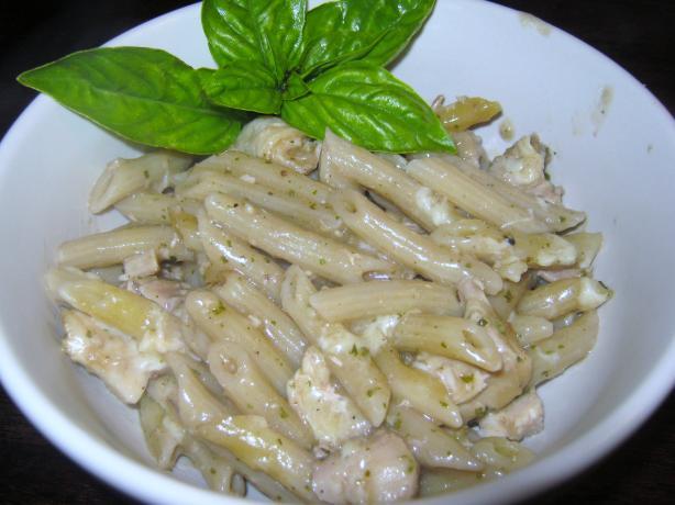 Chicken Pesto Pasta Bake