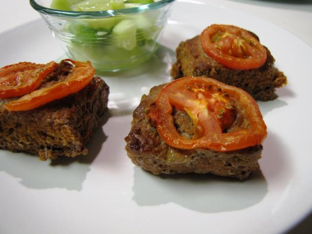 Egyptian Baked Beef Patties (Saniyit Kufta)