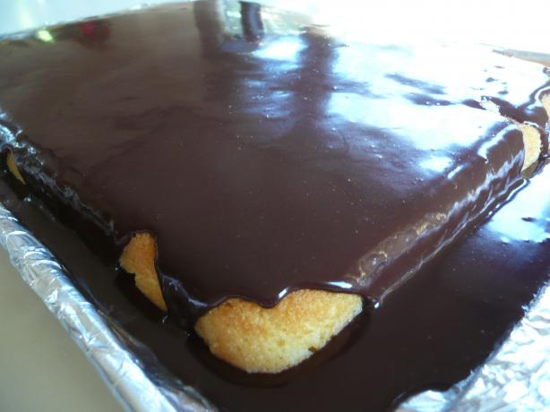Tres Leches Boston Cream Cake