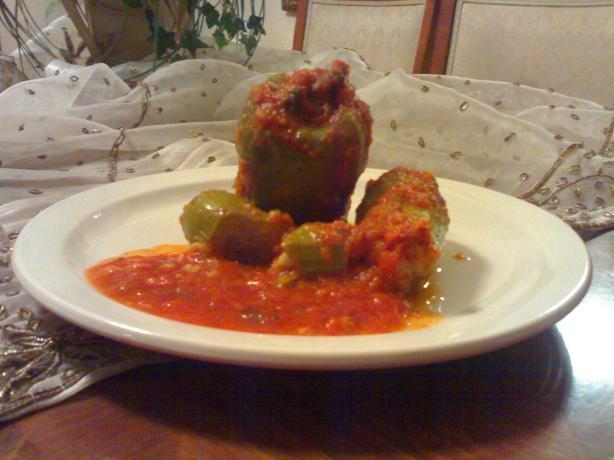 Cousa Mashi - Arabic Stuffed Zucchini