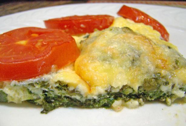 Cheesy Veggie Omelette