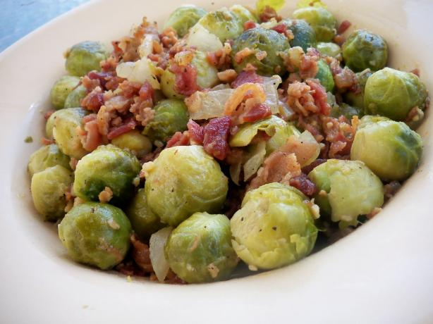 Bacon Brussels Sprouts (Yum!)