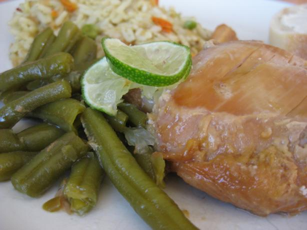 Crock Pot Citrus Chicken