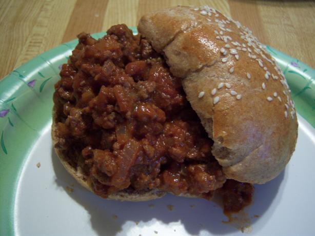 Simply Sloppy Hamburgers