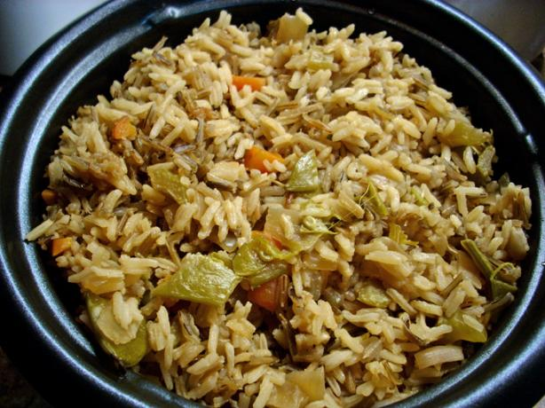 Veggie and Wild Rice Pilaf