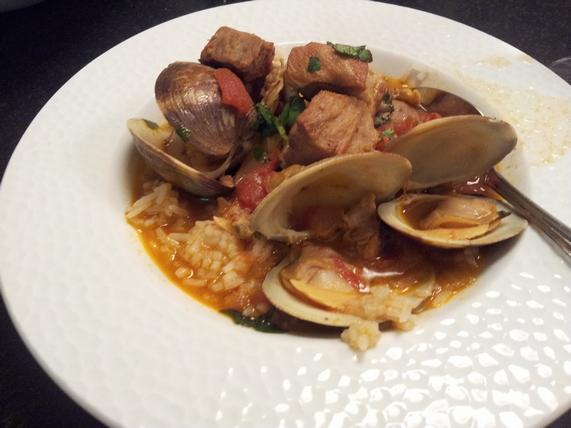 Portuguese Pork & Clam Stew