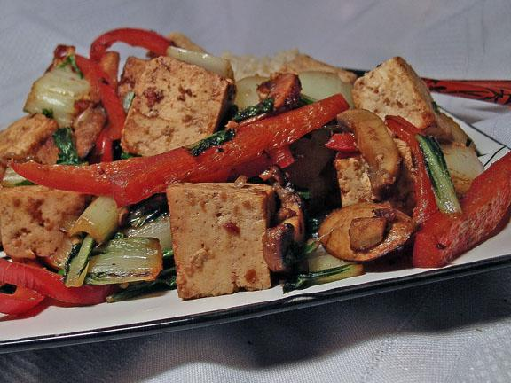 Hoisin Tofu With Vegetables