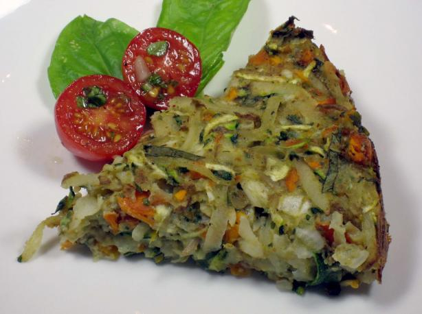 Confetti Vegetable Kugel (Passover)