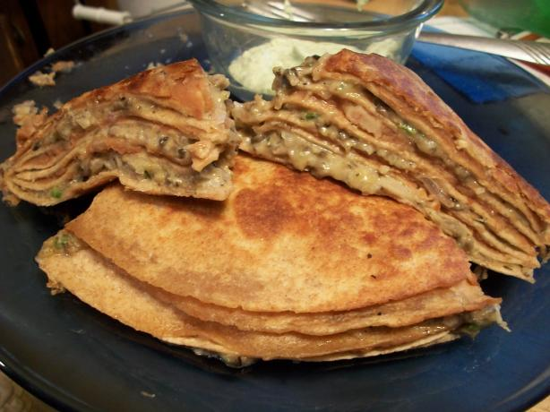 Mile-High Quesadillas