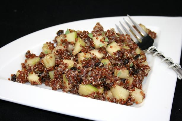 Quinoa, Cucumber and Currant Salad