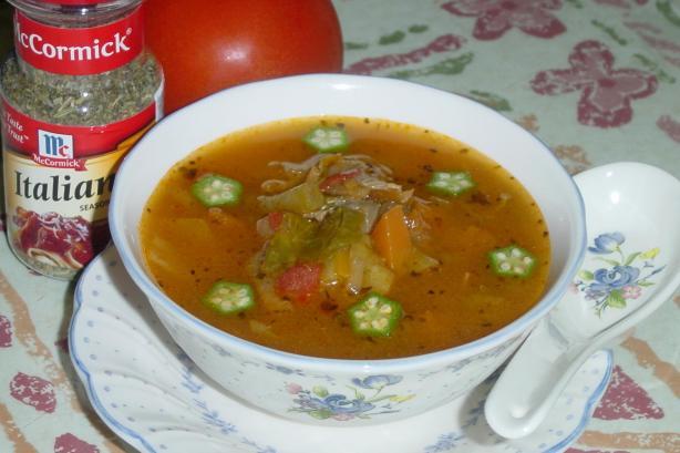Healthy Italian Vegetable Soup