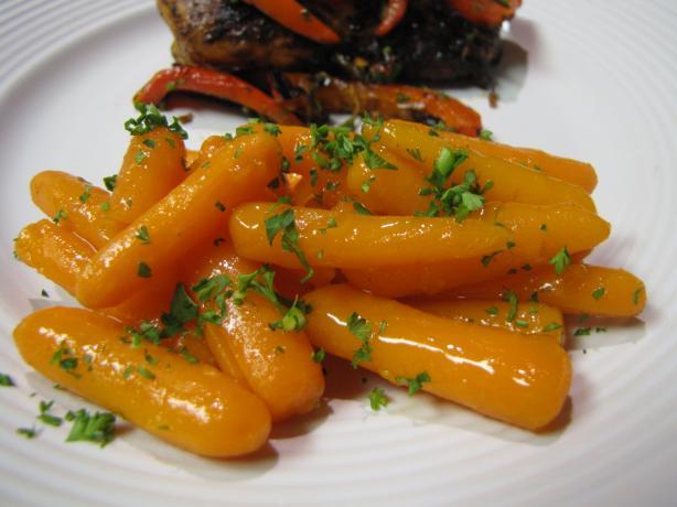 Apricot Glazed Carrots