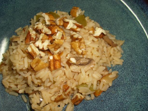 Skillet Pecan Rice