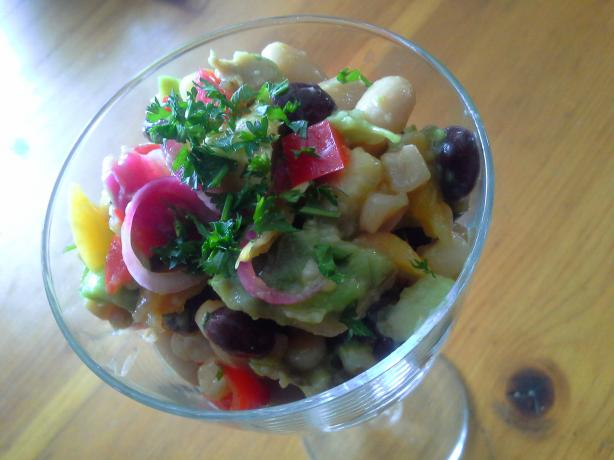 Mango and Bean Salad