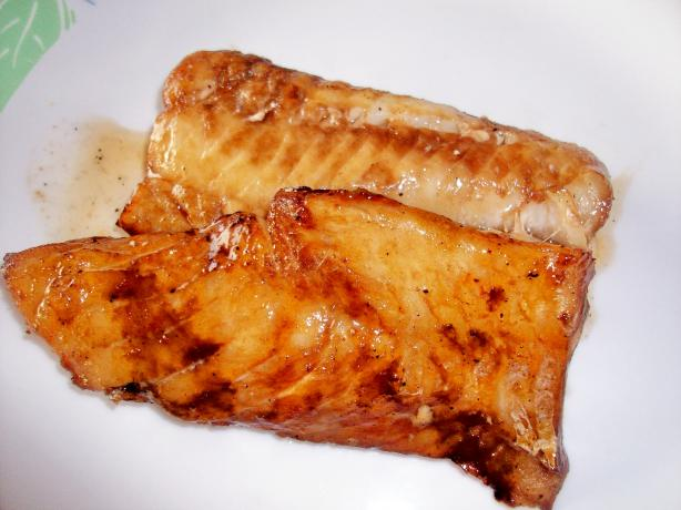 Grilled Copper River Cod