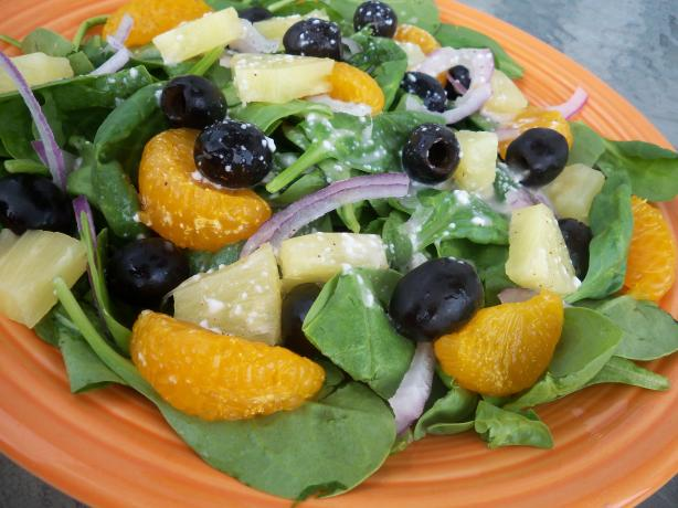 Spinach-Pineapple Salad