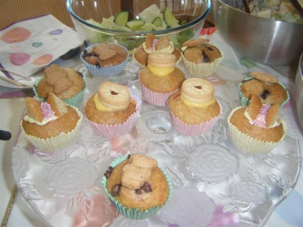 Jammy Dodger Cupcakes
