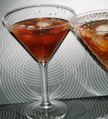 Cranberry Vodka Pama Martini