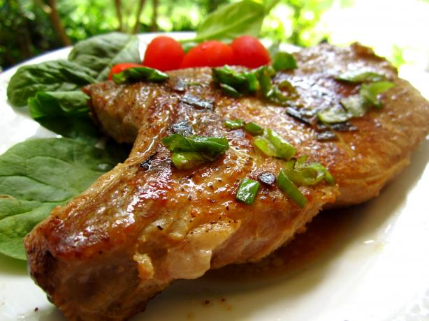 Pan Pork Chops