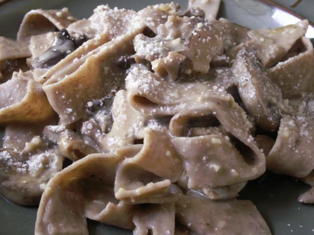 Mushroom Marsala Pappardelle