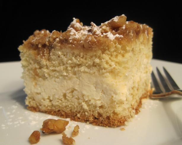 Cream Cheese-Filled Crumb Cake