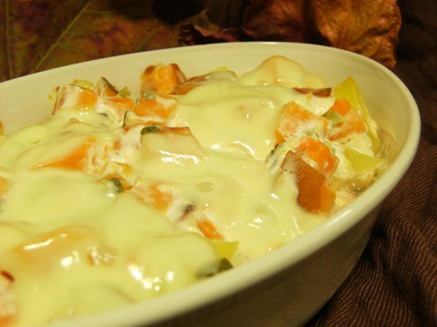 Two-Potato Casserole