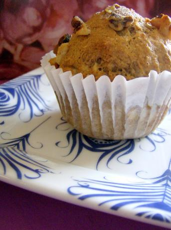 Banana Cinnamon Walnut Muffins