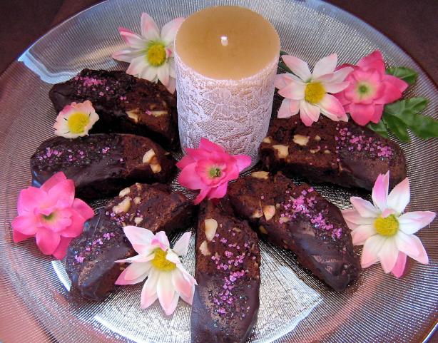 Bittersweet Chocolate Biscotti