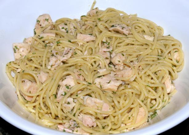 Angel Hair Pasta With Lemon and Chicken
