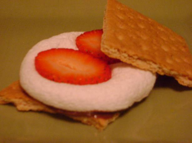 (Chocolate And) Strawberry S'mores