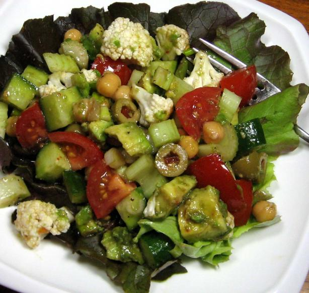 Mediterranean Marinated Salad