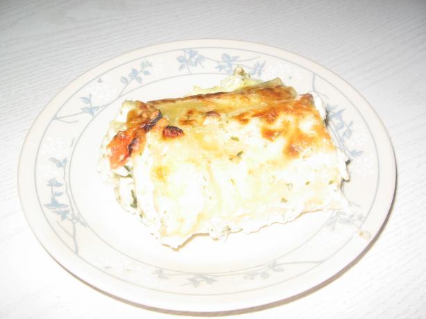 Nikki's Lasagna Rollatini