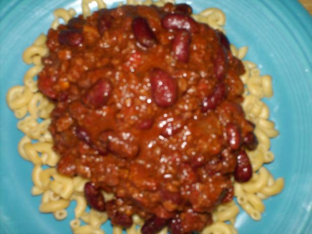 Wendy Richard's Chili Recipe - the Best Chili Ever!!!!!!!!!!!!!!