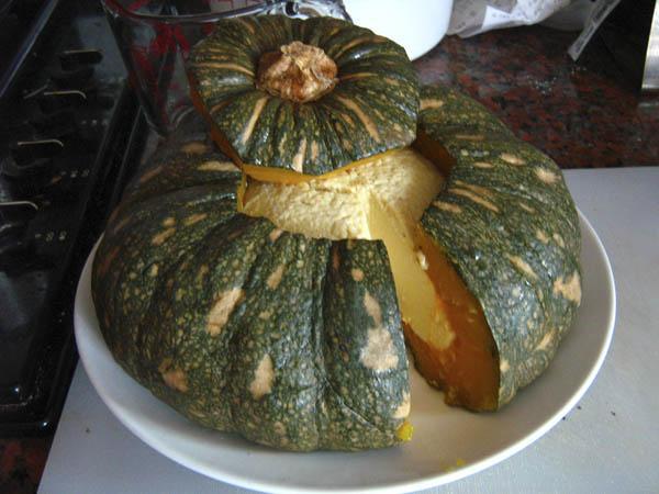 Sankaya (Thai Pumpkin Custard)