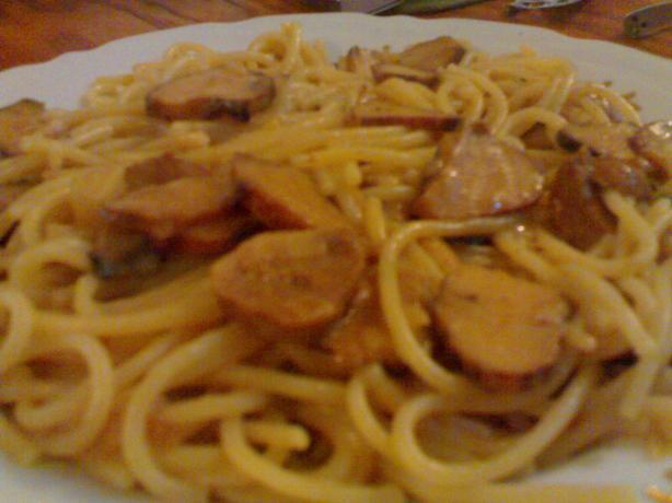 Truffles With Spaghetti