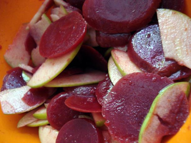 Green Apple and Beet Salad