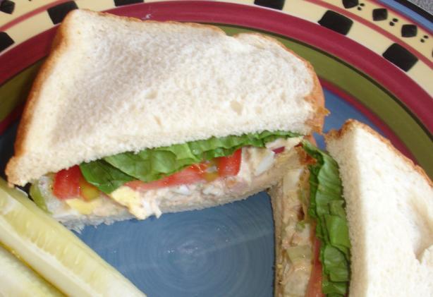 Bakinbaby's Dashing Albacore Sandwich